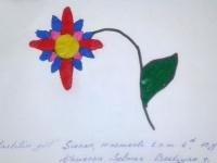 Пластилінова квітка
