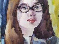 Портрет однокласниці