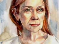 Акварельний портрет