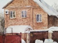 Наш будинок взимку