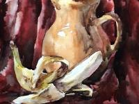Натюрморт із бананом