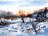 «І перший сніг, і плавний супокій»