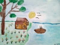 Будинок на березі озера