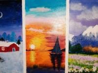 Триптих. Пейзажі