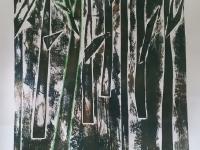 Принт з деревами
