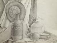 Натюрморт №3 олівцем