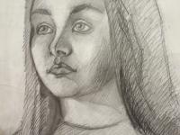Портрет дівчини №2