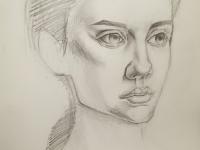 Портрет дівчини №3
