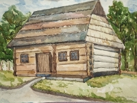 Хатинка в старому селі №1