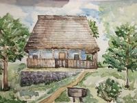 Хатинка в старому селі №2