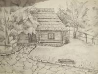 Хатинка в старому селі №3