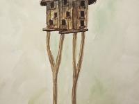 Елемент архітектури в старому селі №2