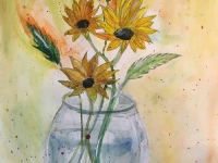 Натюрморт «Квіти сонця»