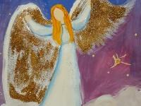Ангел із золотими крилами